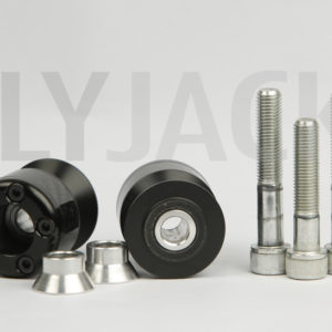 Swing arm spools 10mm